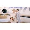 Аренда самолета для свадьбы и медового месяца